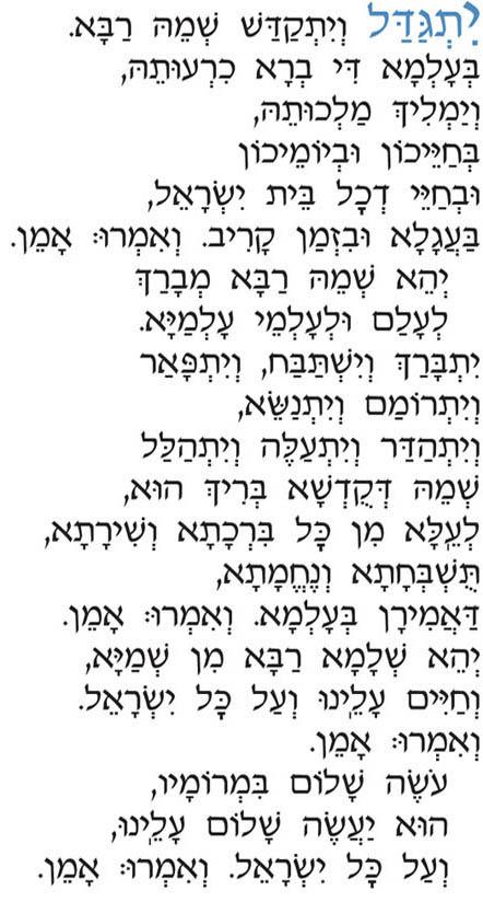Yahrzeit & Mourner's Kaddish - Your South Valley Jewish Community